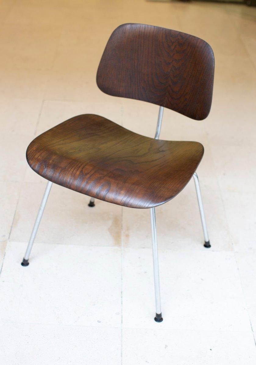 dcm stuhl von charles ray eames f r herman miller 1950er bei pamono kaufen. Black Bedroom Furniture Sets. Home Design Ideas