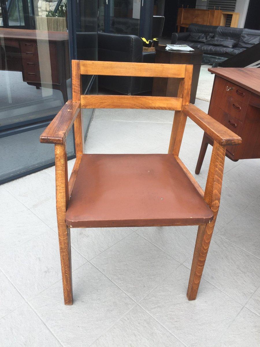 Vintage Armlehnstuhl von Rene Gabrie für Lieuvin, 1940er