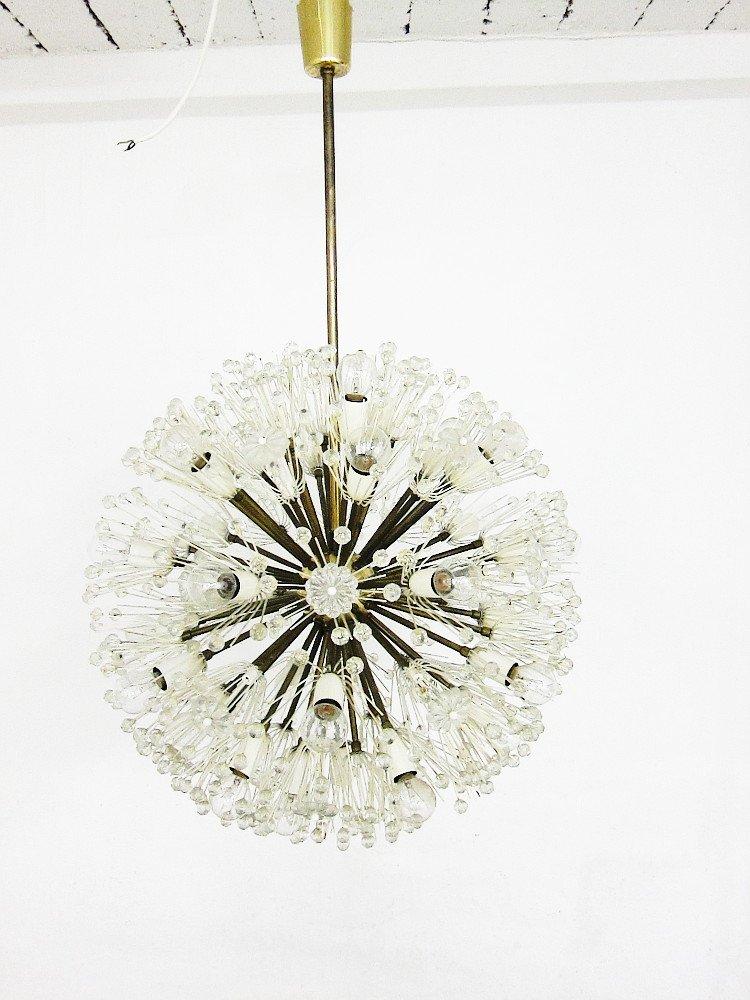 Vintage Dandelion Sputnik Kronleuchter von Emil Stejnar für Nikoll