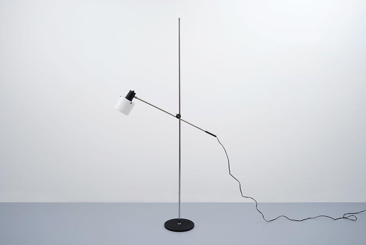 Stehlampe von J.J.M. Hoogervorst für Anvia, 1960er