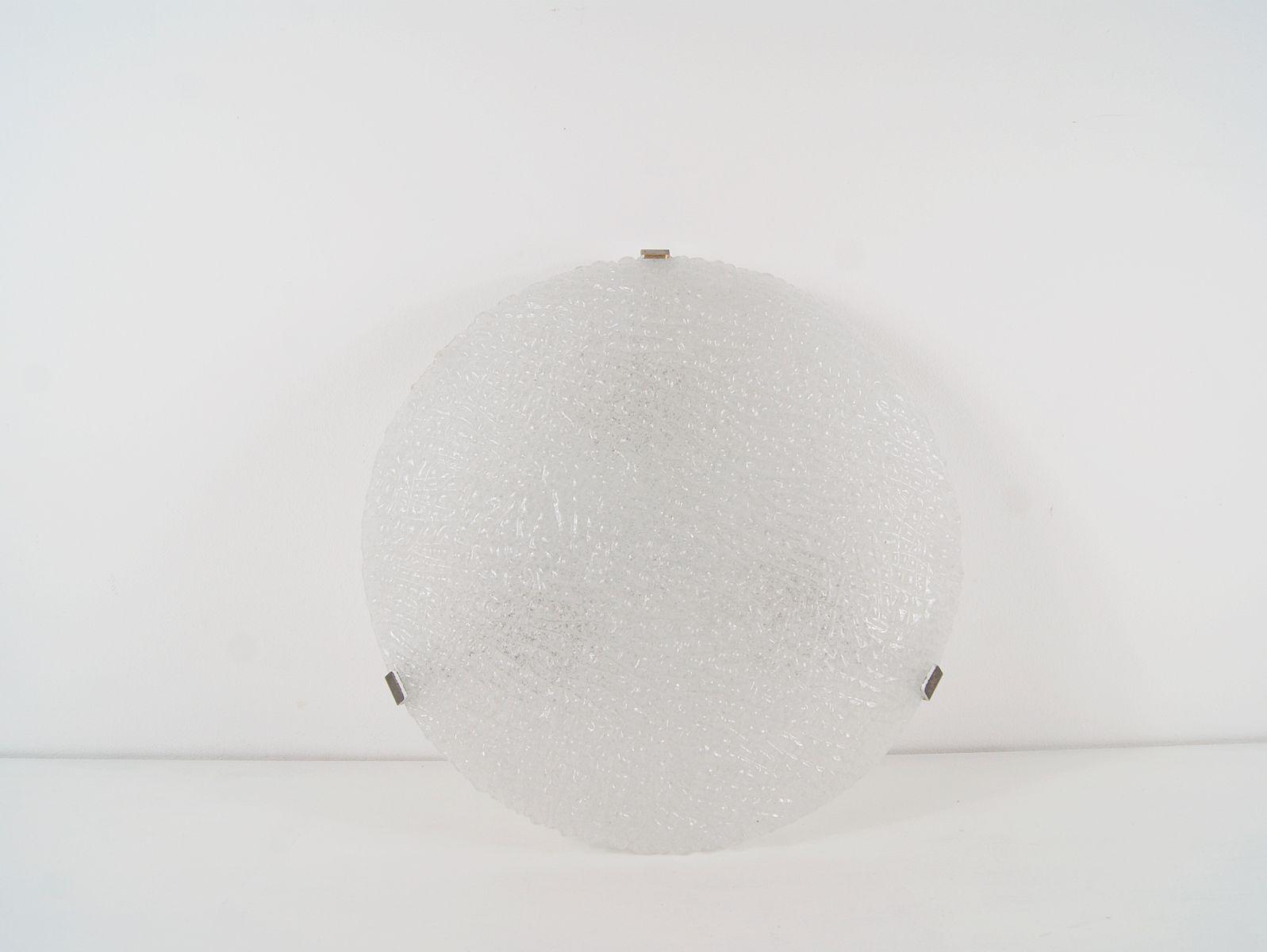 Große österreichische Deckenlampe von Kalmar, 1960er