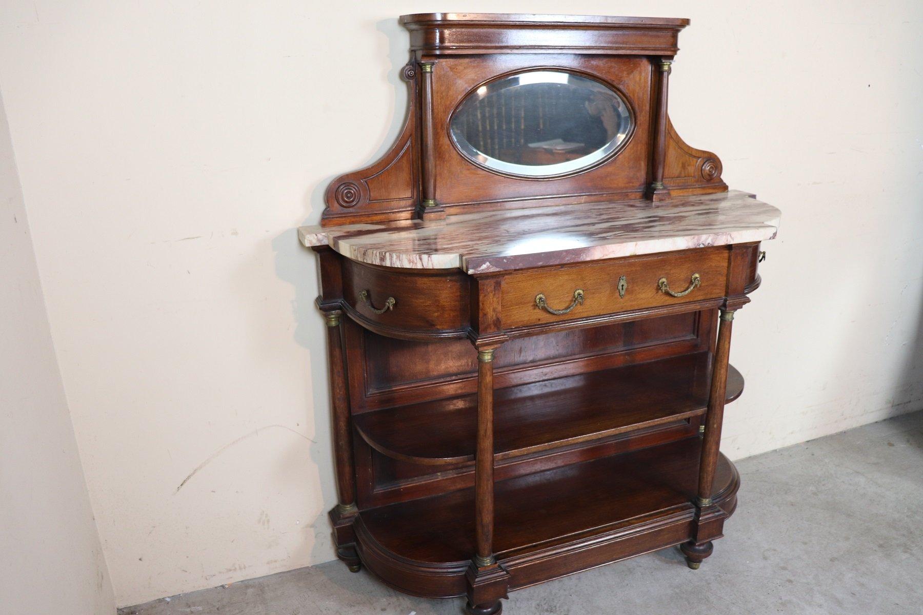 meuble d 39 entr e art nouveau italie 1920s en vente sur pamono. Black Bedroom Furniture Sets. Home Design Ideas