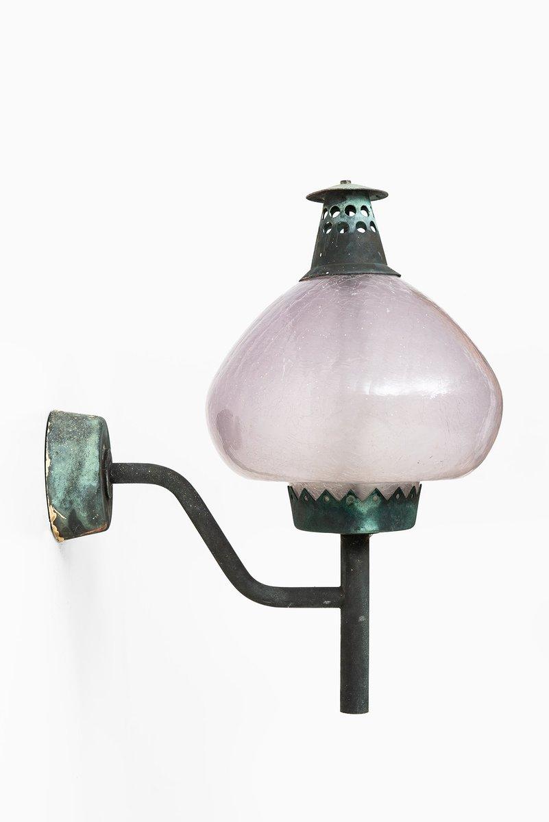 S1591 Wandlampen von Bergström für Hans-Agne Jakobsson, 1950er, 2er Se...