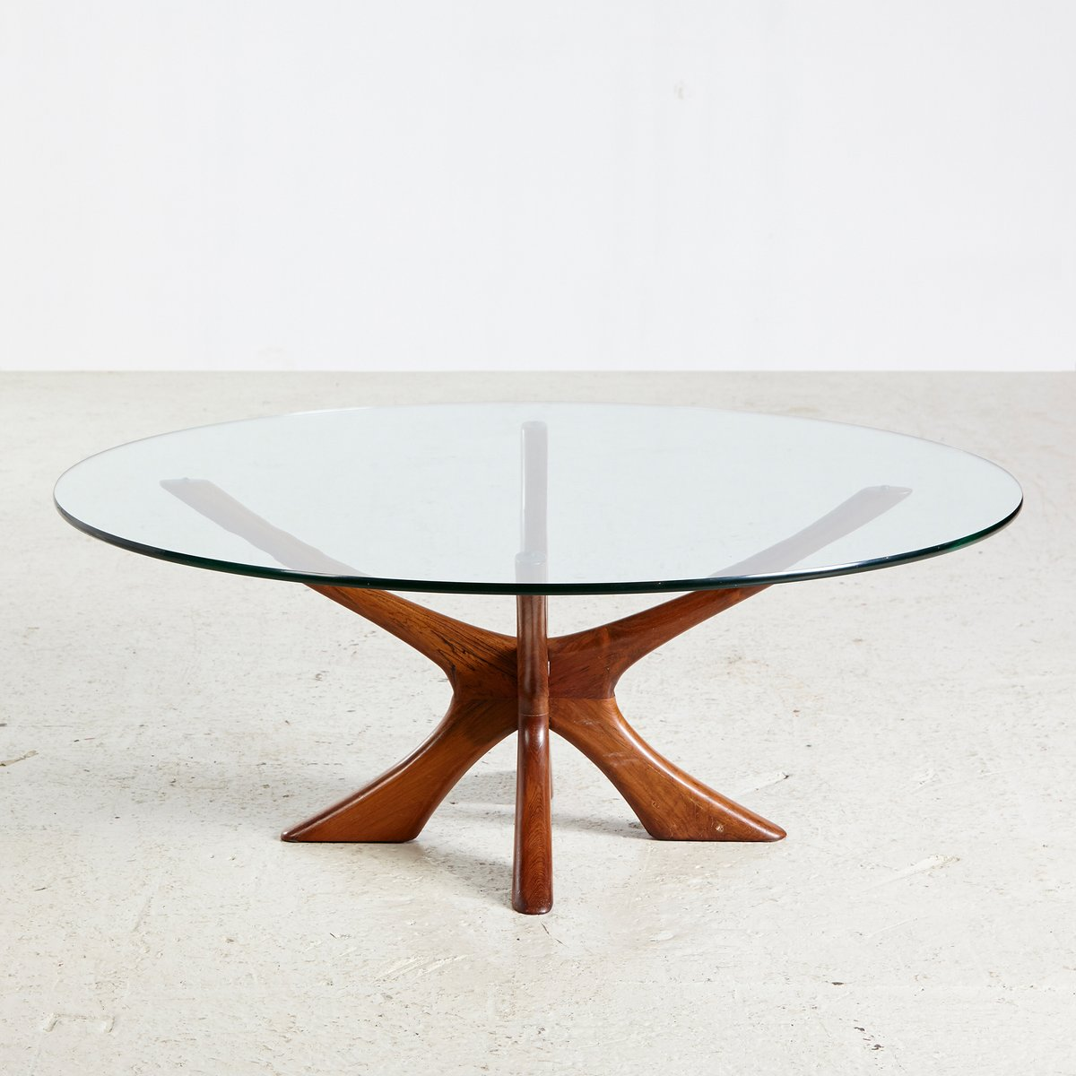 Teak Atomic Coffee Table: JAX Teak Coffee Table By Illum Wikkelso For Niels Eilersen