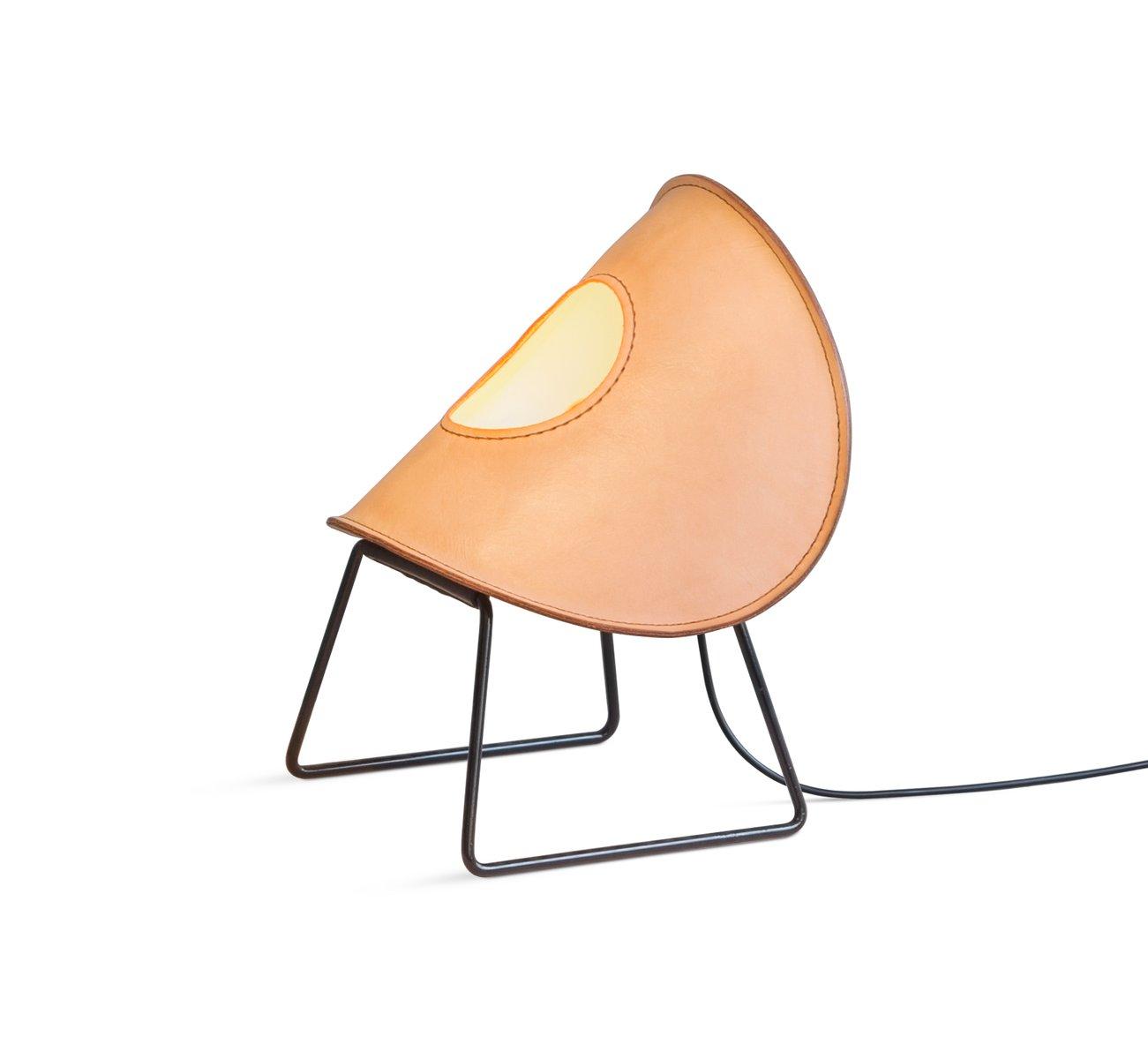 Kleine hautfarbene Zero One Stehlampe von Jacob de Baan für Uniqka