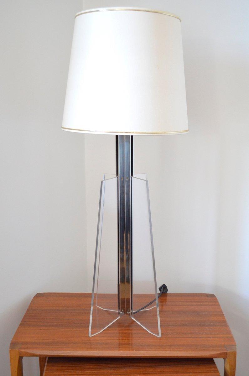 Italienische Vintage Lampe aus Acrylglas, 1970er