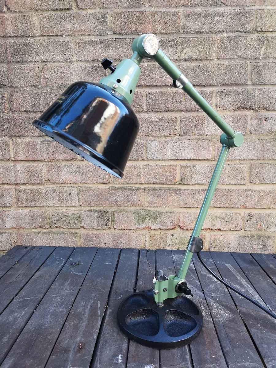 Vintage Tischlampe von Curt Fischer für Midgard