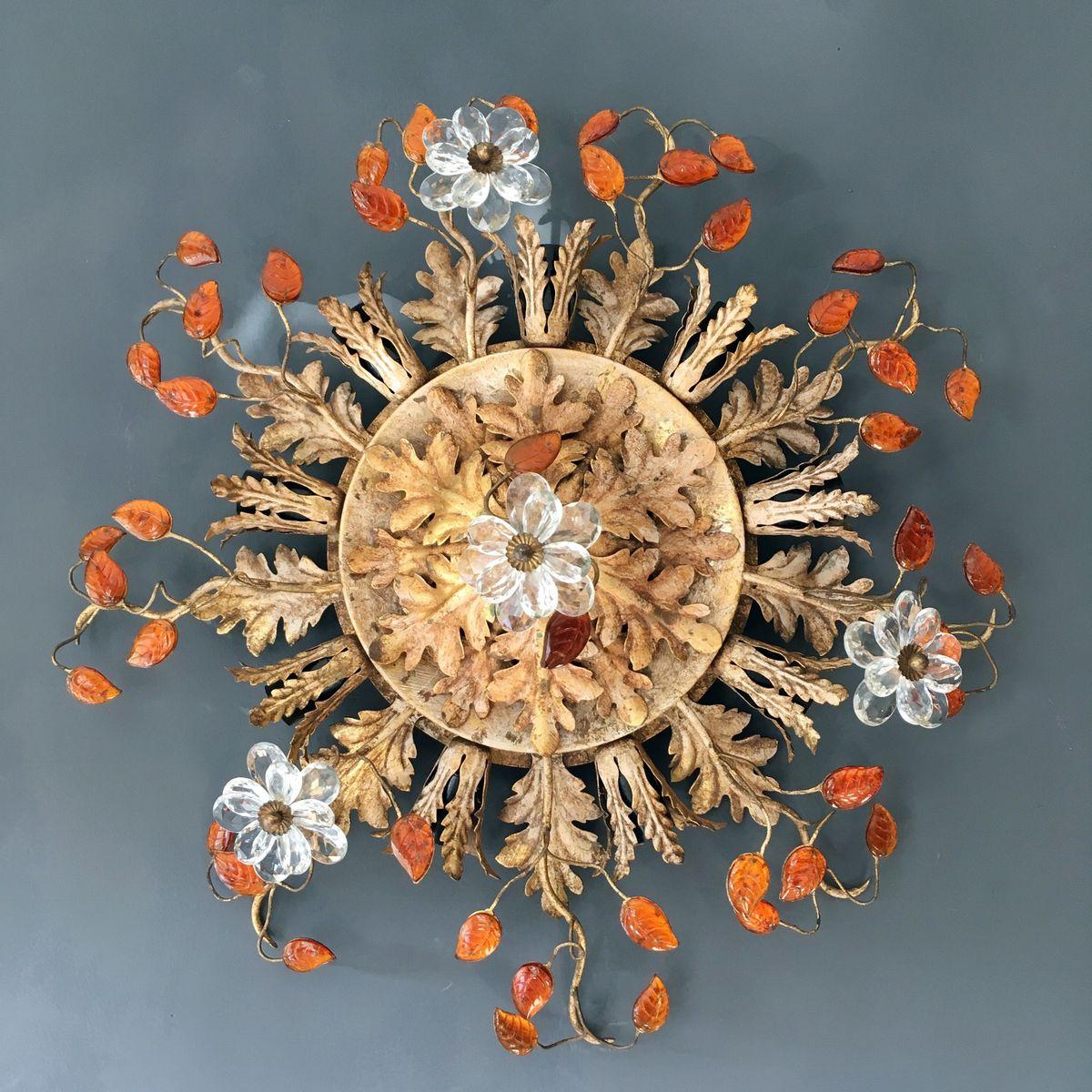 Florentiner Vintage Einbau-Deckenlampe von Banci Firenze