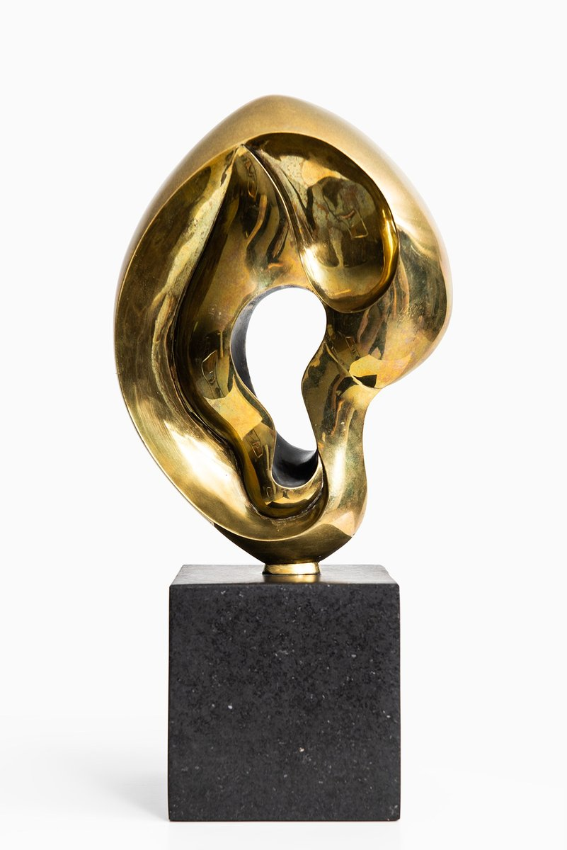 king 39 s ear sculpture by christian berg 1955 for sale at. Black Bedroom Furniture Sets. Home Design Ideas