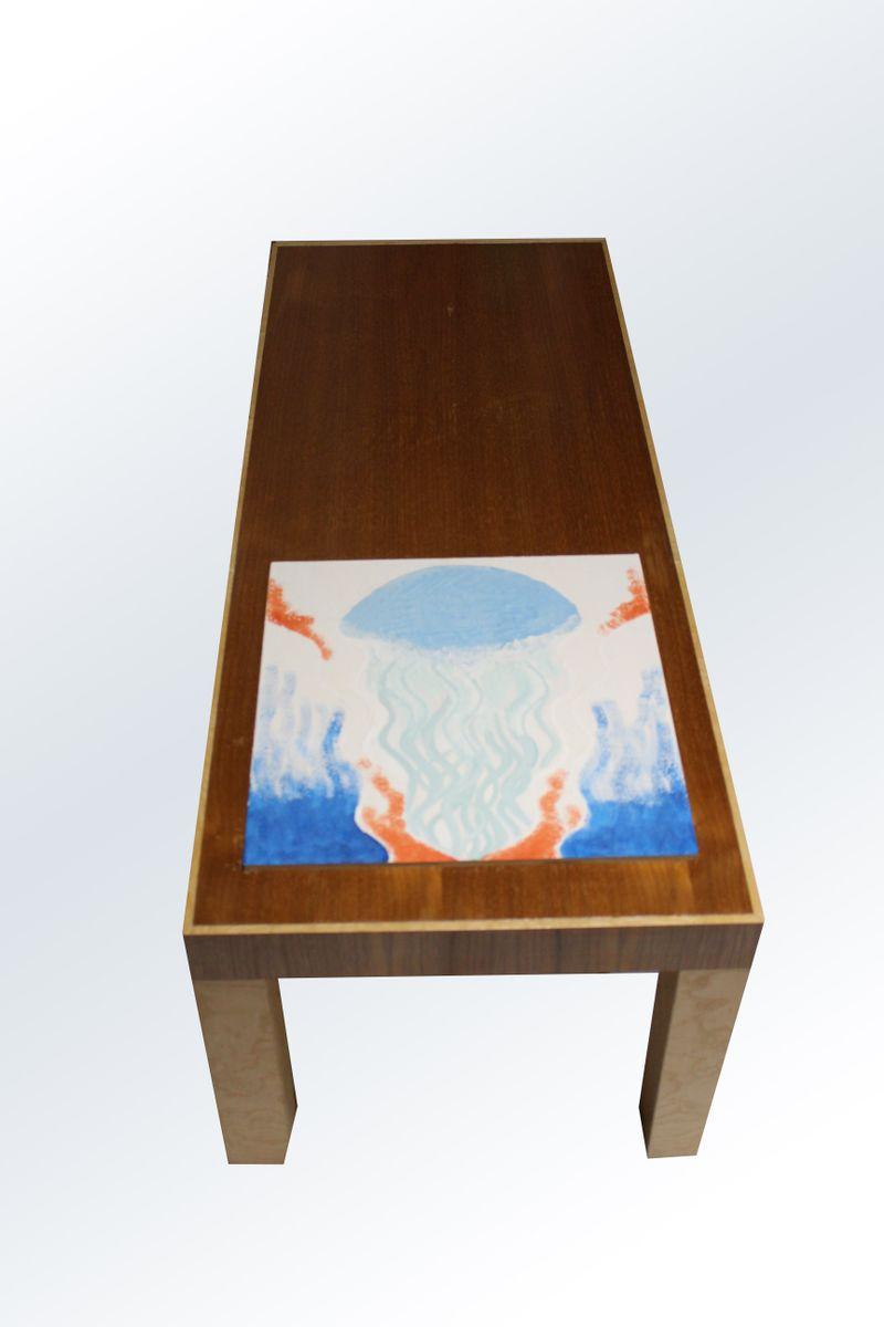 Kleiner Oceano Tres Couchtisch von Mascia Meccani für Meccani Design