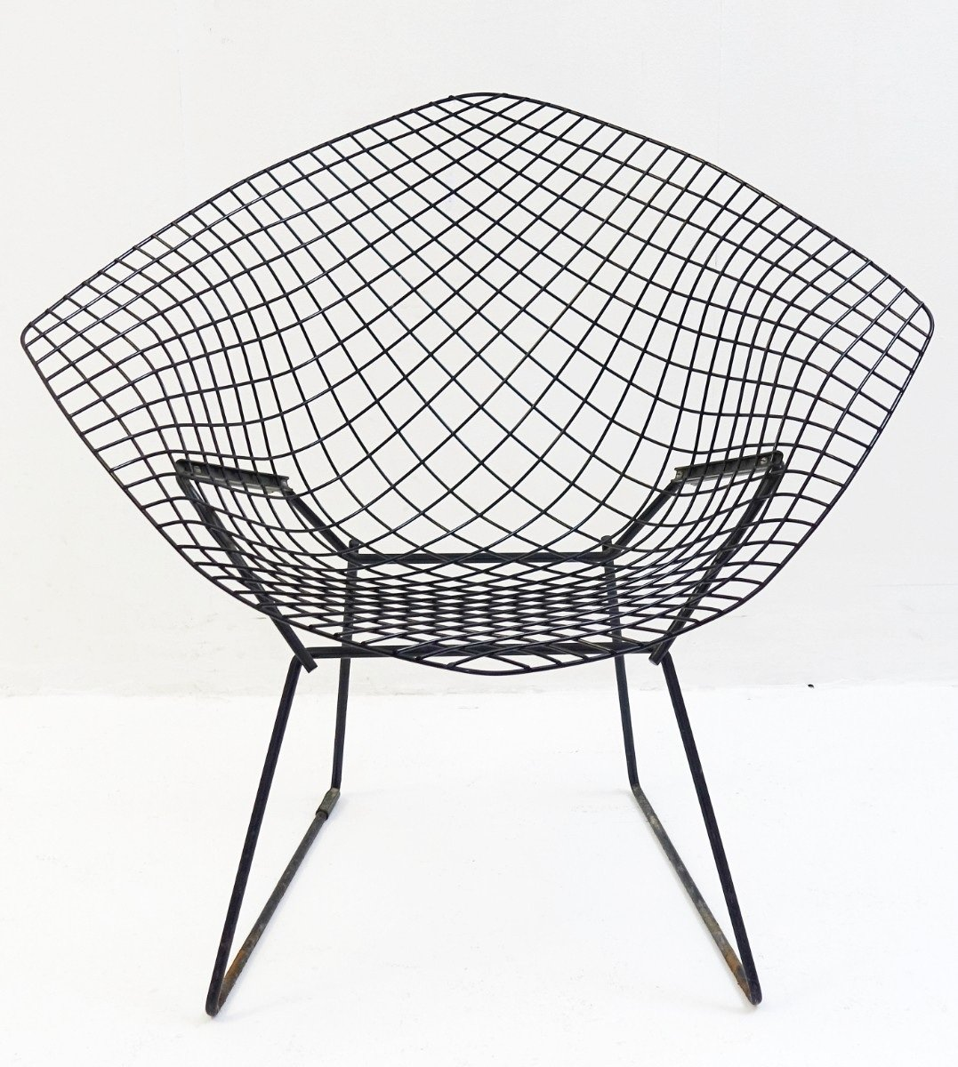 Modell 421 Diamond Stuhl von Harry Bertoia für Knoll International, 19...