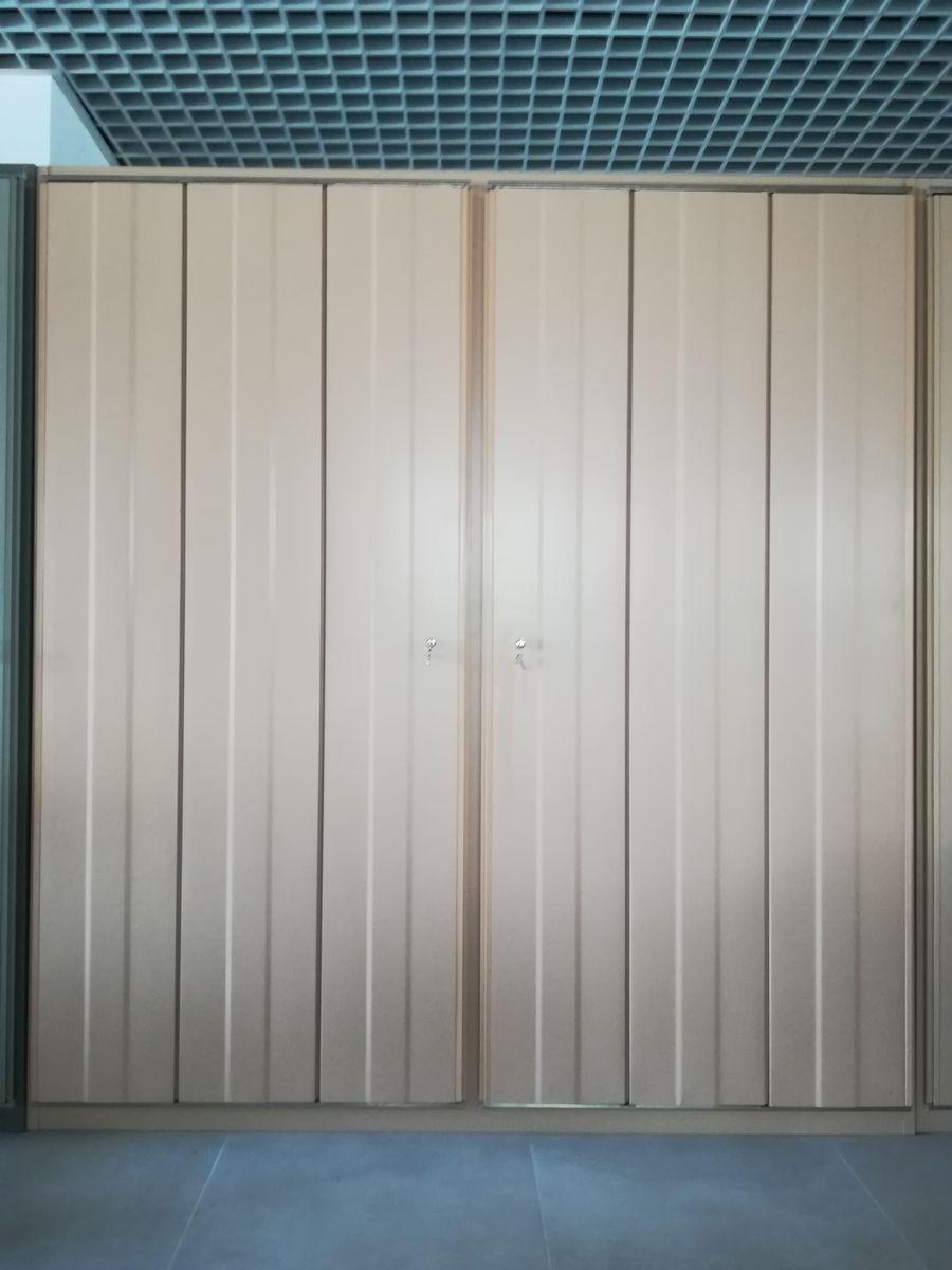 Series 45 Kleiderschrank von Ector Sottsass für Olivetti Synthesis, 19...