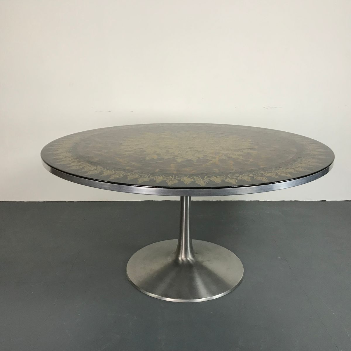 Mid Century Tulip Table By Poul Cadovius U0026 Susanne Fjeldsøe For Cado