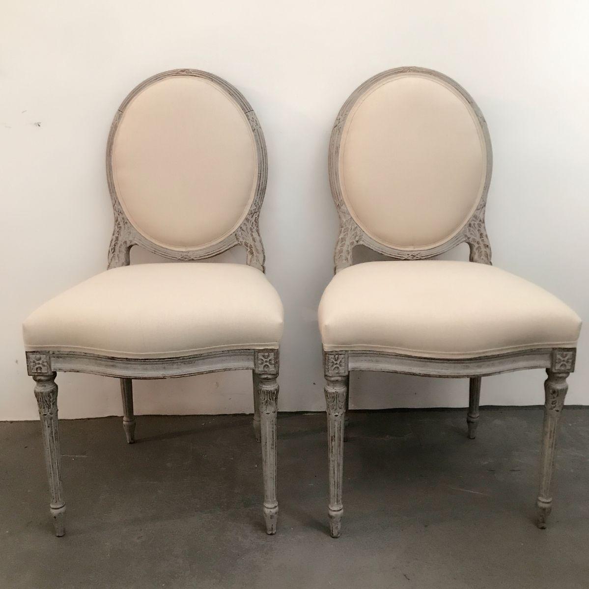 antike gustavianische st hle 1880er 2er set bei pamono kaufen. Black Bedroom Furniture Sets. Home Design Ideas
