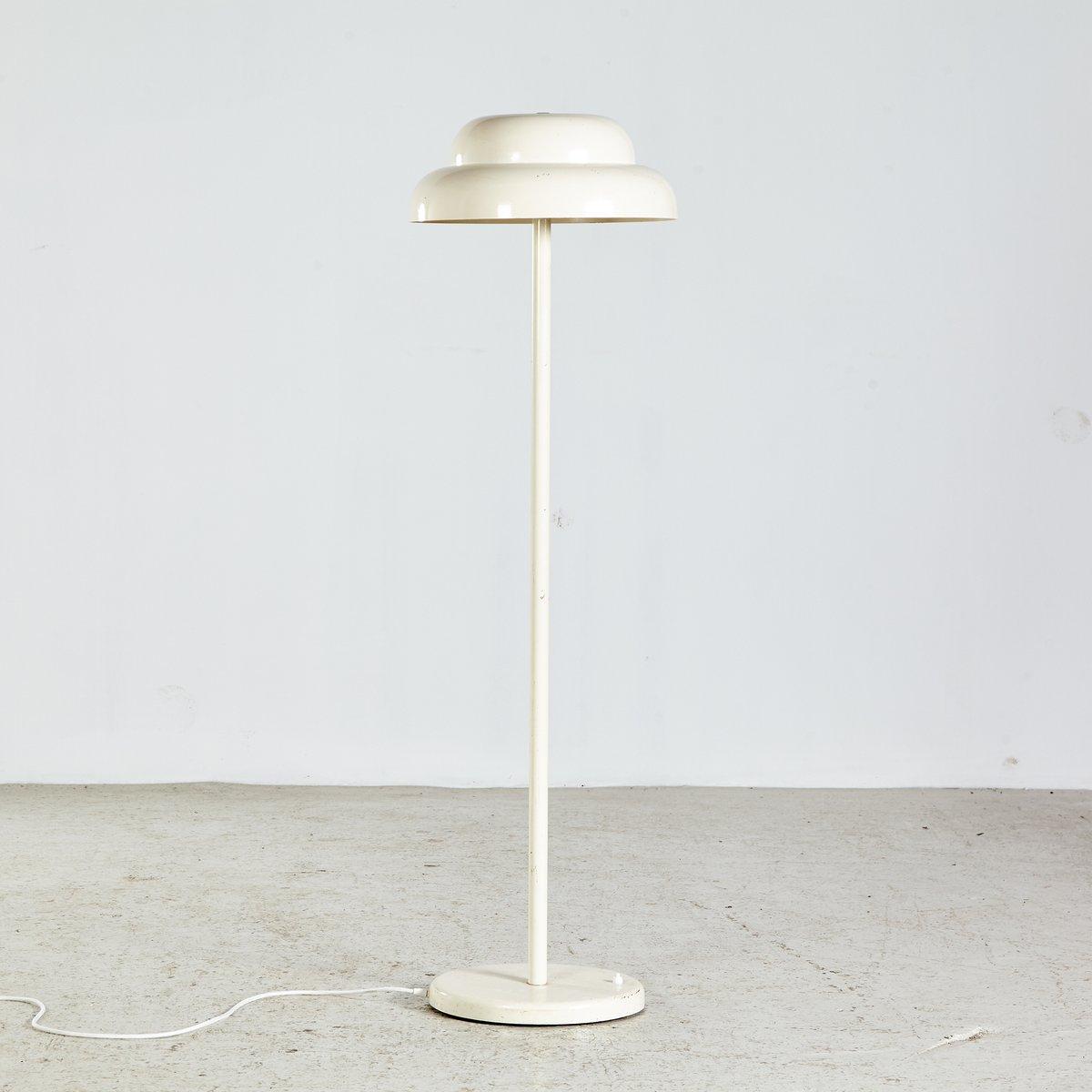 White Cloud Stehlampe von János Bánáti für Opteam, 1970er