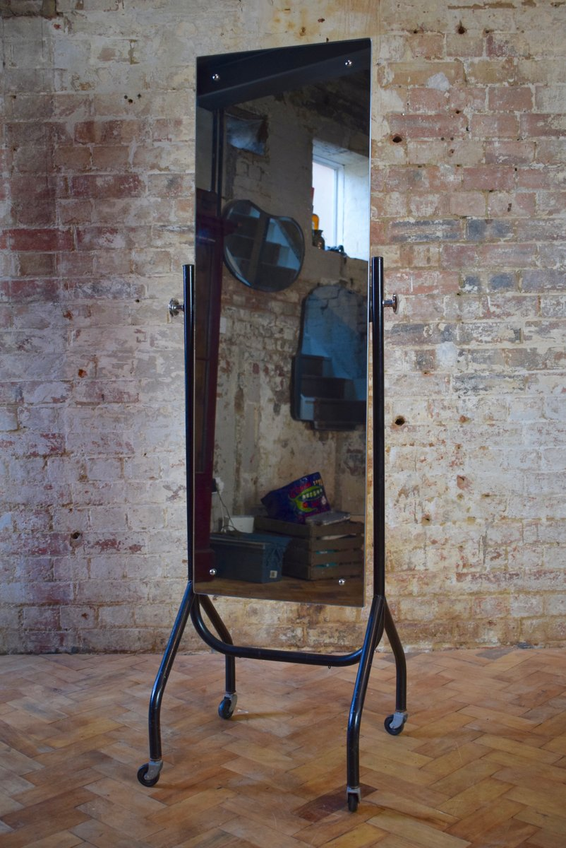 Vintage Free Standing Full Length Mirror For Sale At Pamono