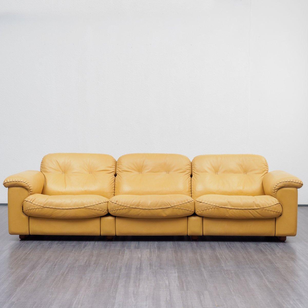 Vintage Modell DS 101 3-Sitzer Sofa von de Sede