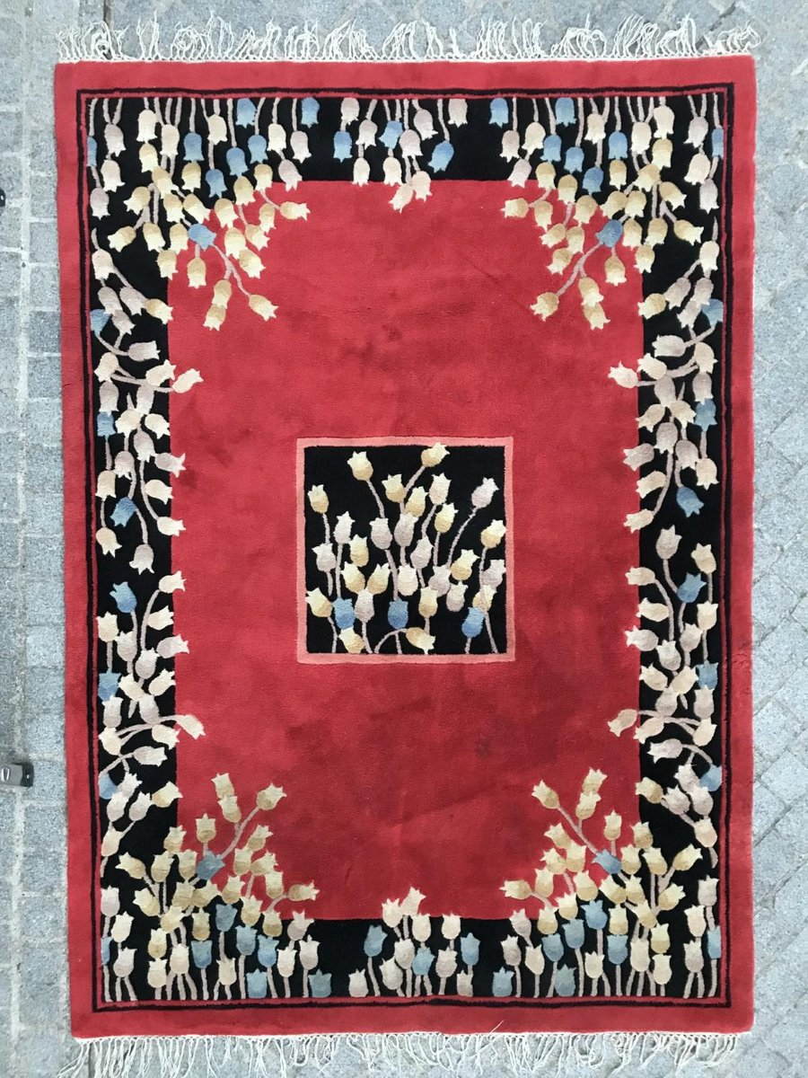 Vintage Indian Hand Tufted Rug For Sale At Pamono