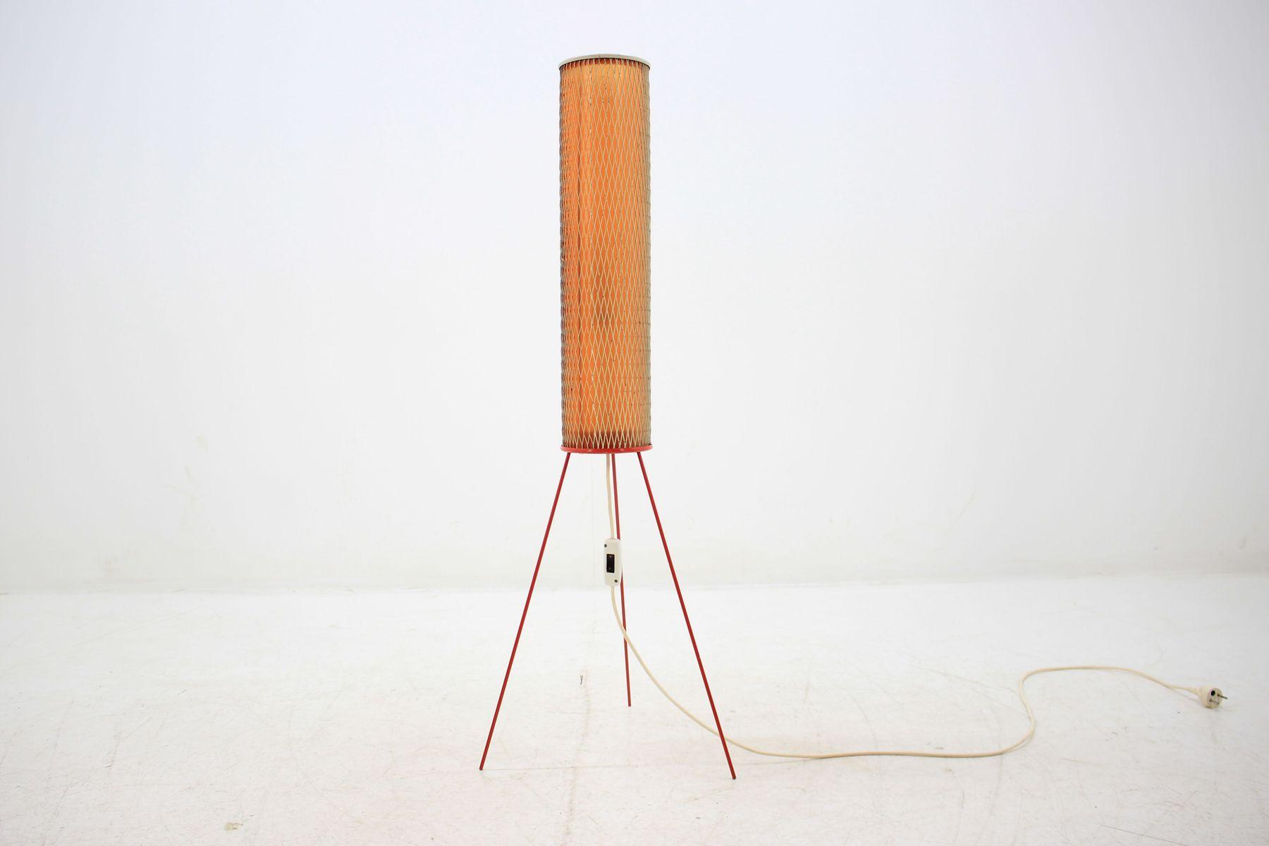 Stehlampe in Raketen-Optik von Josef Hurka für Napako, 1964
