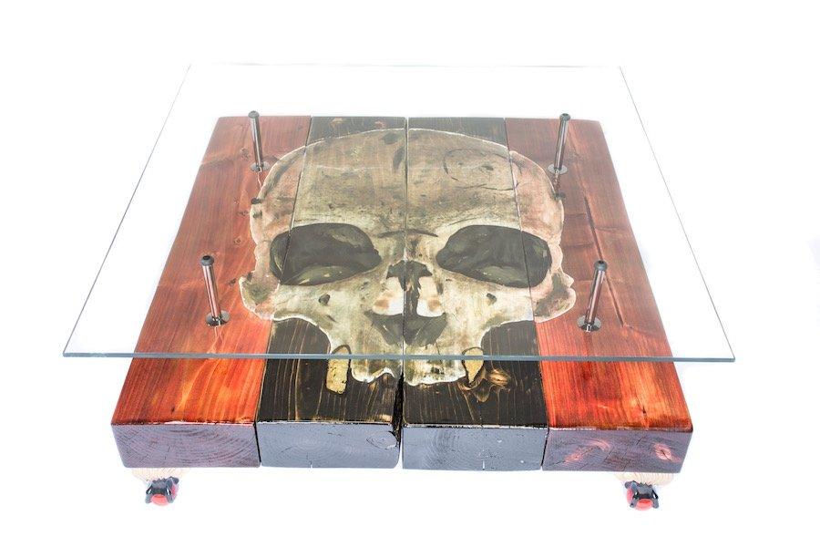 Gothic Skull Couchtisch von Anthony W Parry für Cappa E Spada, 2015