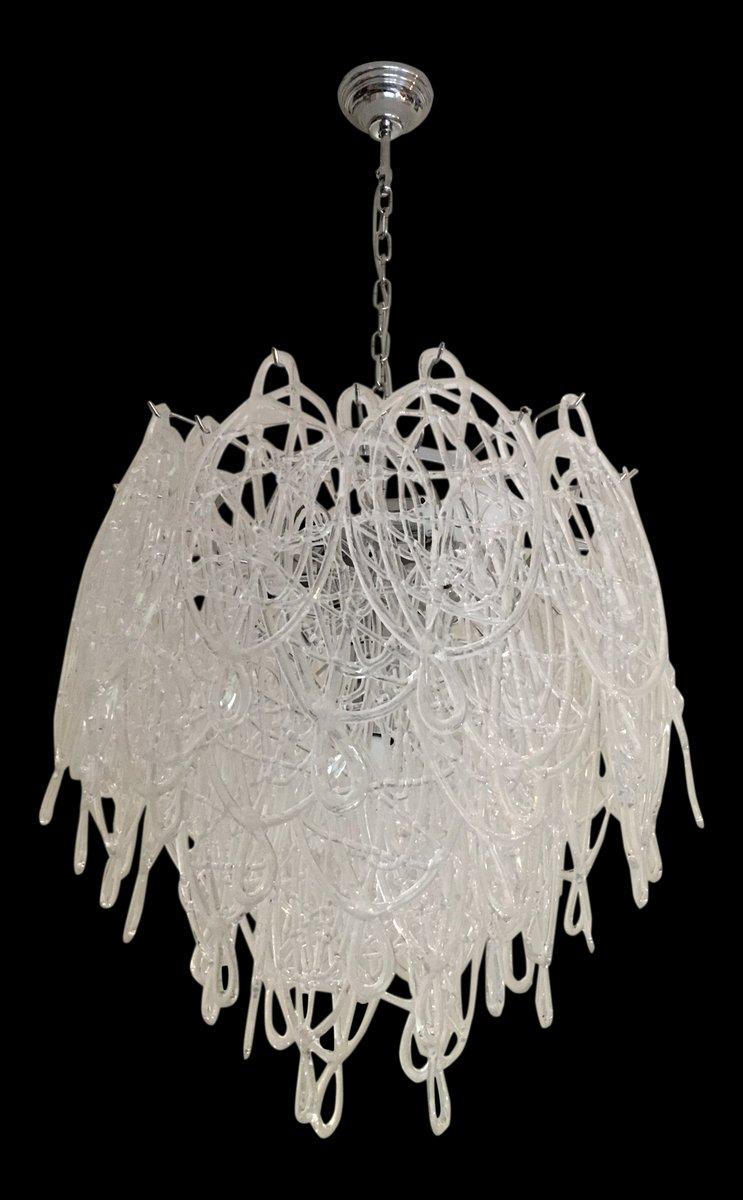 Triedo Sputnik Kronleuchter aus Muranoglas