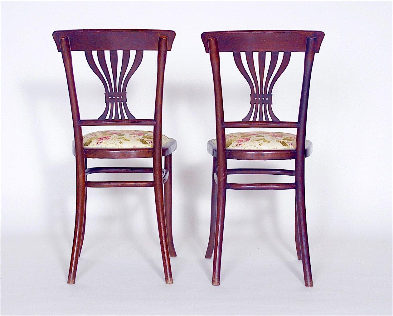 sterreichische st hle 1890er 4er set bei pamono kaufen. Black Bedroom Furniture Sets. Home Design Ideas