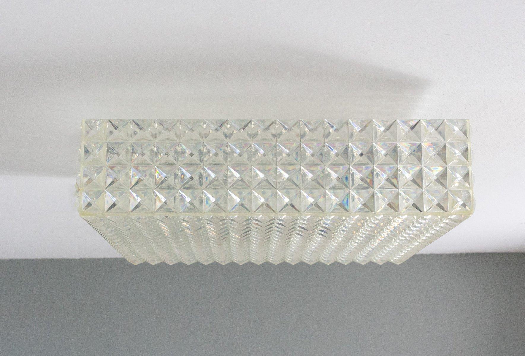 Modell Diamant Deckenlampe von Aloys Gangkofner für Erco, 1970er