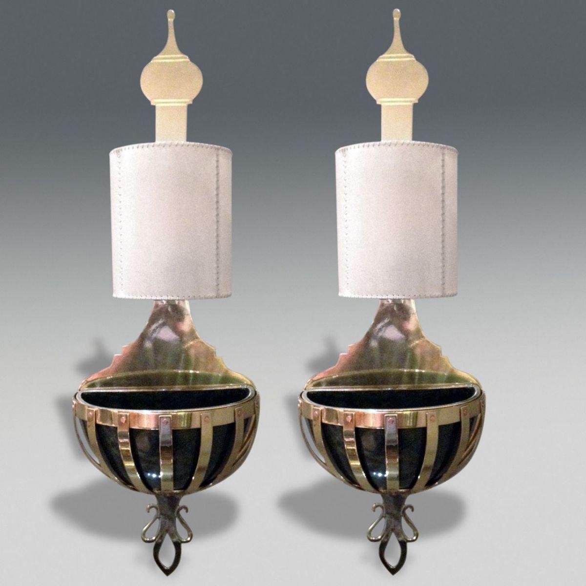 Wandlampen von Valenti, 1980er, 2er Set