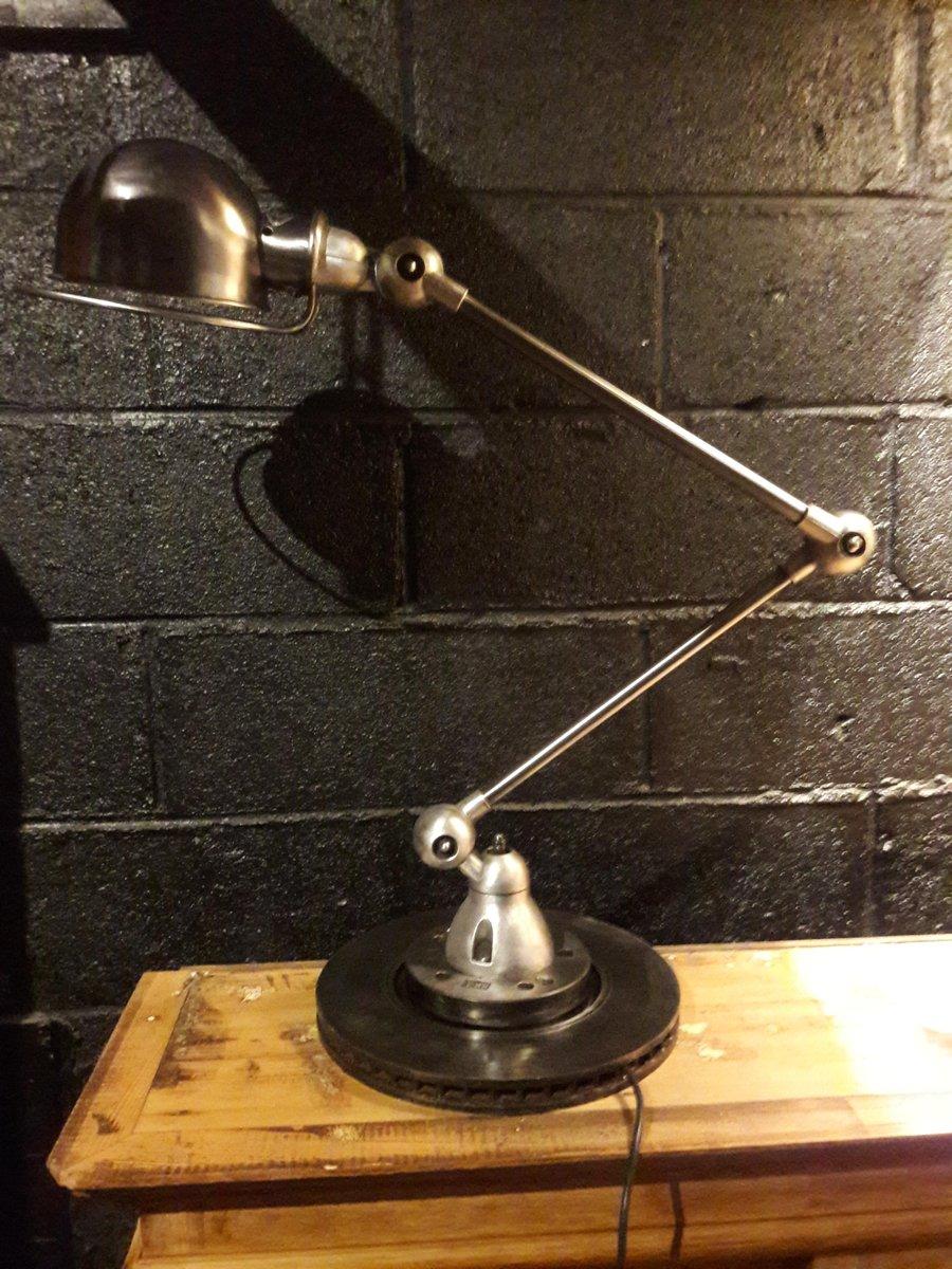 Jielde Tischlampe von Jean-Louis Domecq, 1950er