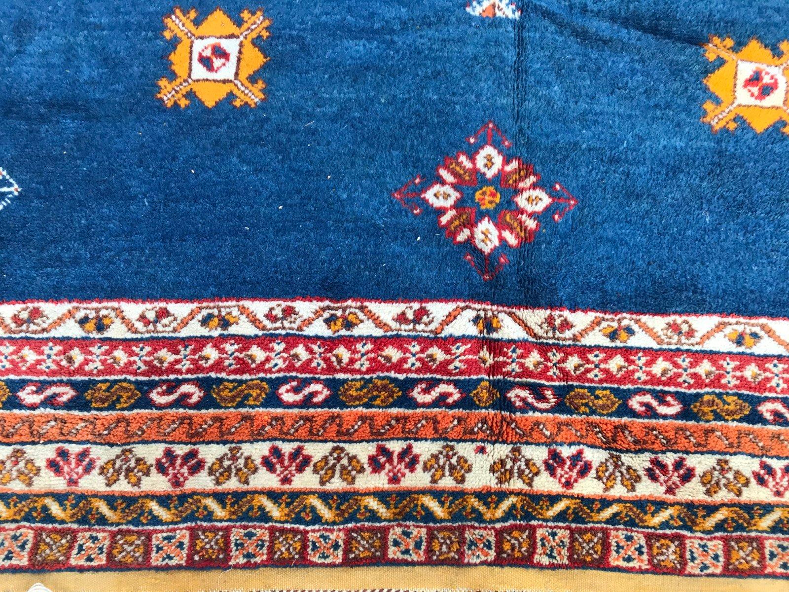 gro er marokkanischer vintage teppich bei pamono kaufen. Black Bedroom Furniture Sets. Home Design Ideas