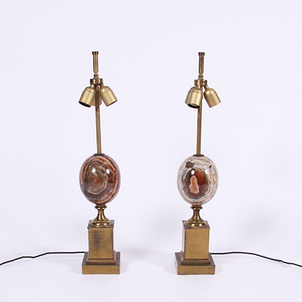 Vintage Tischlampen von Maison Charles, 1960er, 2er Set