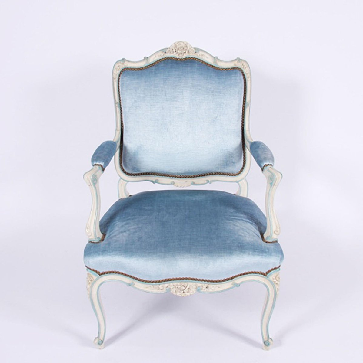 Antique French Salon Chair - Antique French Salon Chair For Sale At Pamono