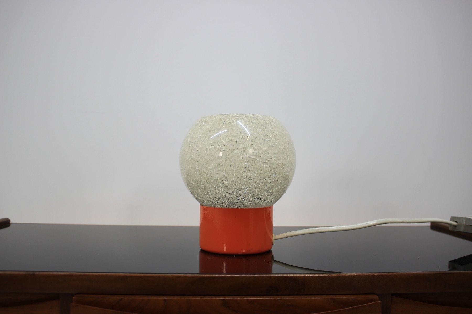 Kleine Space Age Tischlampe, 1970er
