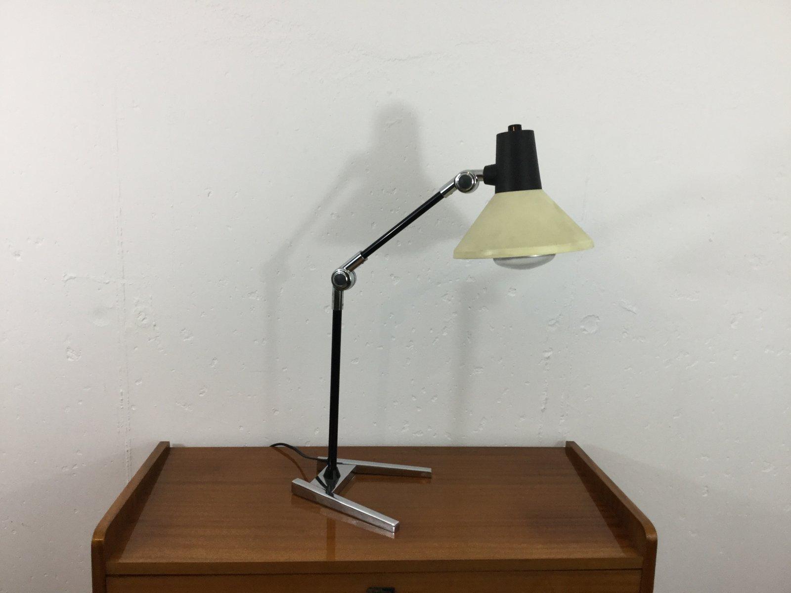 Mid-Century Tischlampe von Derungs Toplux, 1970er