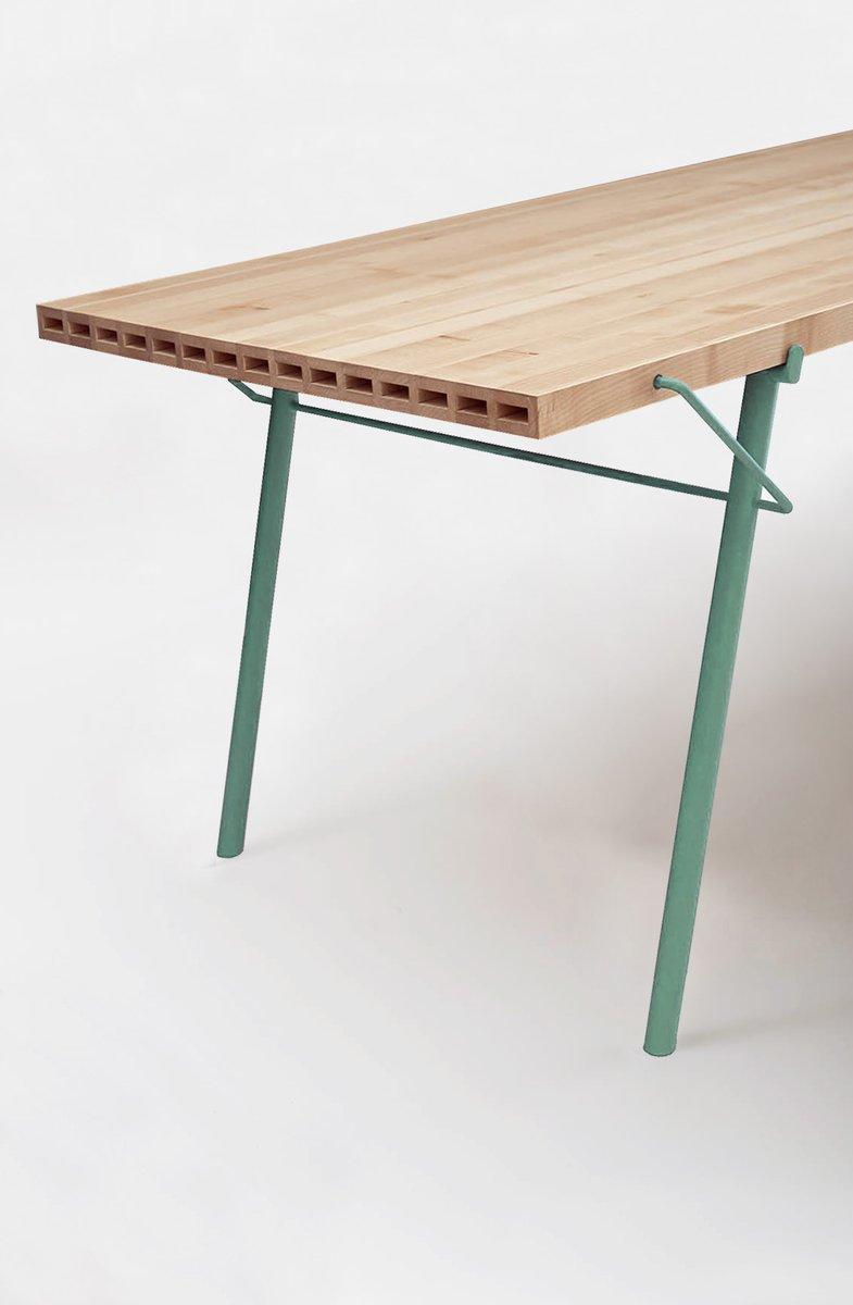 Tavolo da esterno Alveo con ripiano in legno massiccio in vendita su ...