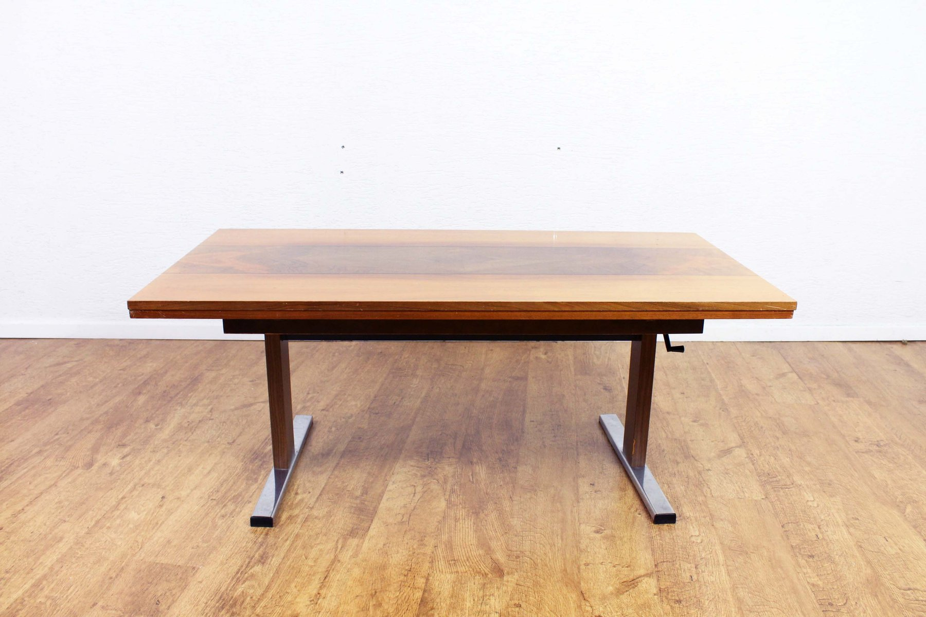 Extendable & Height Adjustable Dining or Coffee Table, 1970s