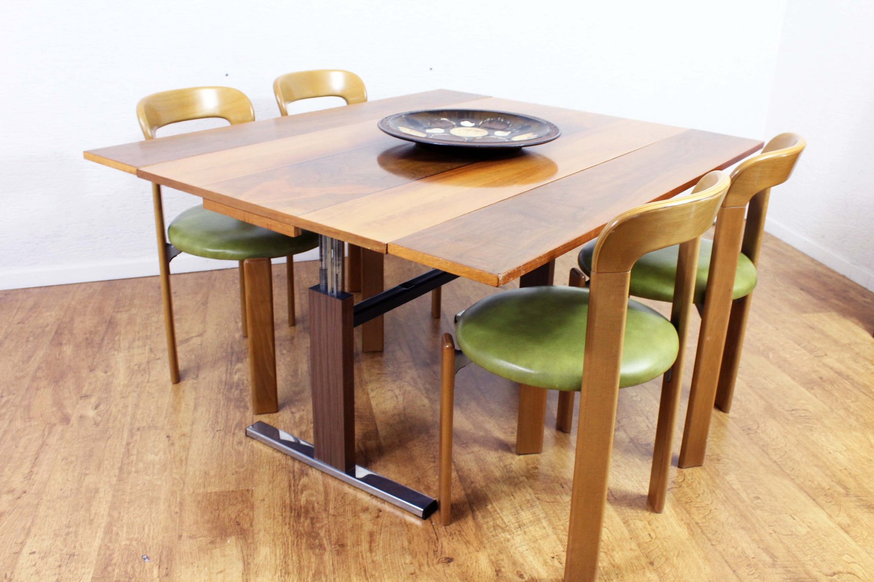 Extendable Amp Height Adjustable Dining Or Coffee Table