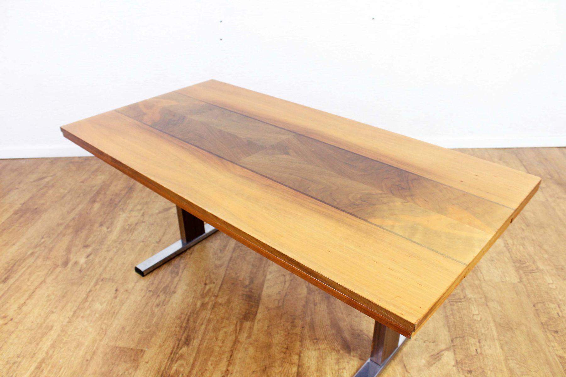 Mesa de comedor o de centro extensible de altura ajustable, años 70 ...
