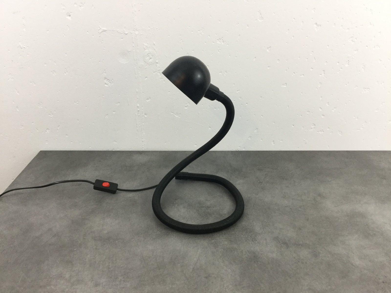 Vintage Lampe in Schlangen-Optik