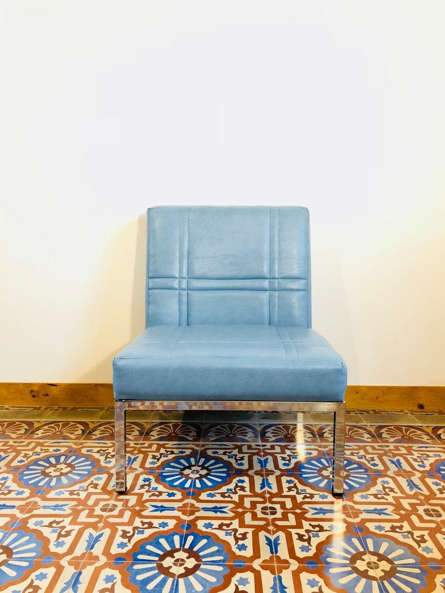 Französischer Vintage Sessel von SIF Mobilier, 1960er