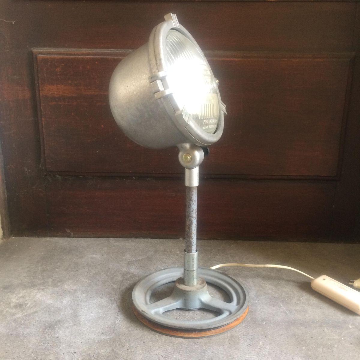 Lampe De Bureau Vintage Industrielle En Vente Sur Pamono