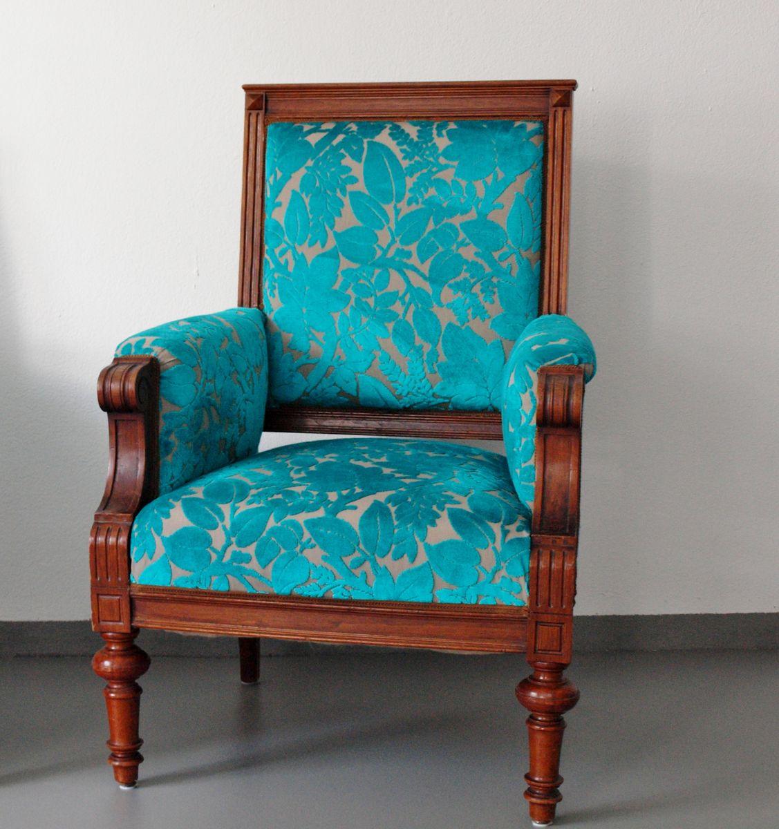 Antiker Sessel aus der Gründerzeit, 1890er