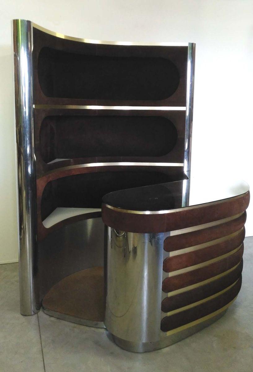 mobile bar von willy rizzo 1960er bei pamono kaufen. Black Bedroom Furniture Sets. Home Design Ideas