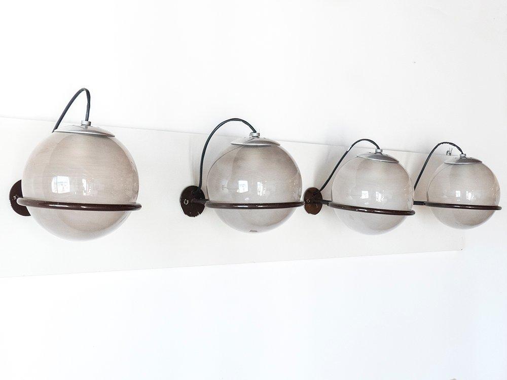 Vintage 238/1 Wandlampen von Gino Sarfatti für Arteluce, 1960er, 4er S...