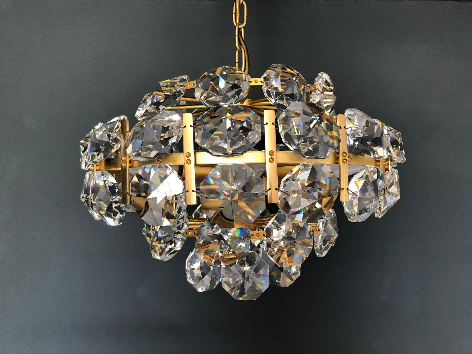 Kronleuchter aus Kristallglas von Bakalowits, 1960er
