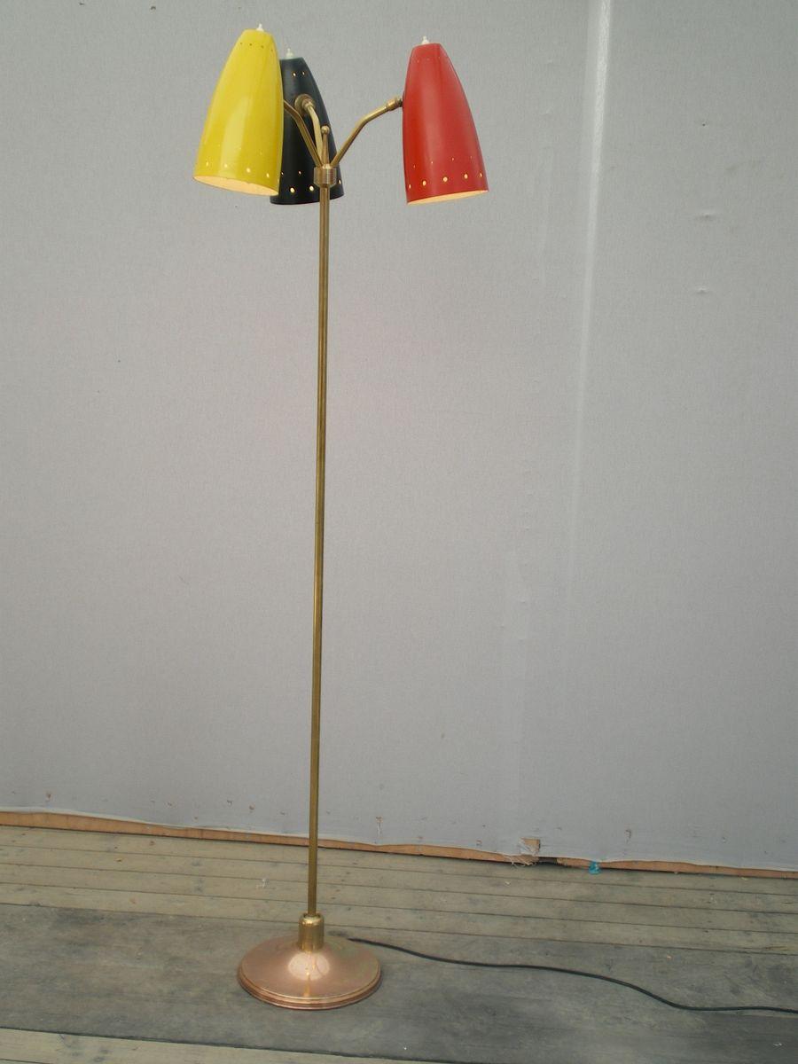 Stehlampe von Arlus, 1950er