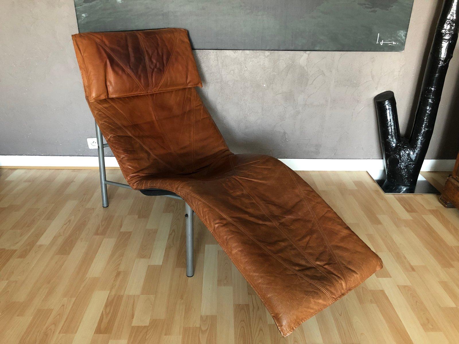 vintage sessel aus cognacfarbenem leder von tord bjorklund. Black Bedroom Furniture Sets. Home Design Ideas