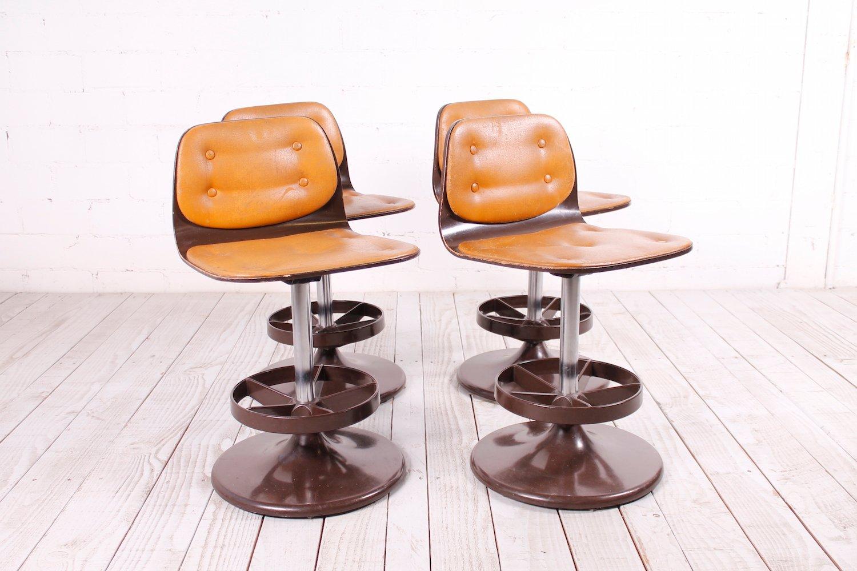Sgabelli da bar o sedie da pranzo anni 60 set di 4 in vendita su