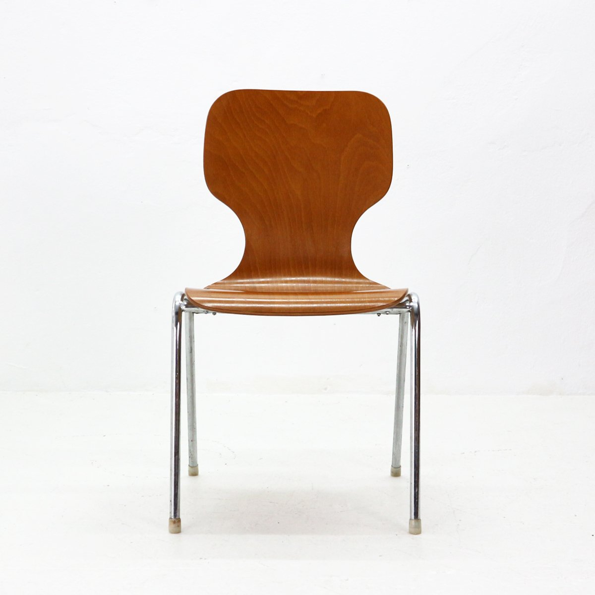 Stapelbare Stühle Aus Schichtholz 1960er 6er Set Bei