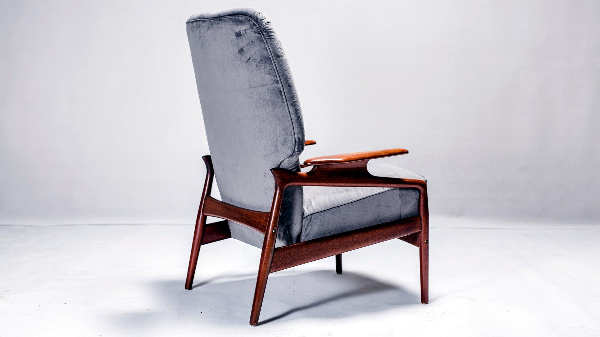 d nischer mid century sessel bei pamono kaufen. Black Bedroom Furniture Sets. Home Design Ideas